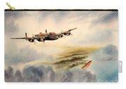 Avro Lancaster Over England Carry-all Pouch