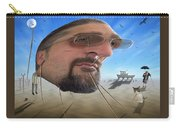 Awake . . A Sad Existence Carry-all Pouch by Mike McGlothlen