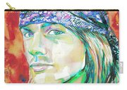 Axl Rose Portrait.2 Carry-all Pouch