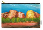 Ayers Rock End Carry-all Pouch