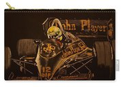 Ayrton Senna And Lotus 98t Carry-all Pouch