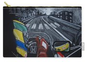 Ayrton Senna On Board At Monaco 89 Carry-all Pouch