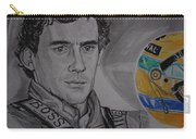 Ayrton Senna Portrait Carry-all Pouch