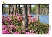 Azalea At The Lake Carry-all Pouch