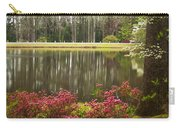 Azaleas And Reflection Pond Carry-all Pouch