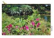 Azaleas By The Pond Carry-all Pouch