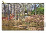 Azaleas By The Pond's Edge Carry-all Pouch
