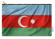 Azerbaijan Flag Carry-all Pouch by Les Cunliffe