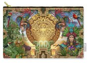 Aztec Mayhem Montage Carry-all Pouch