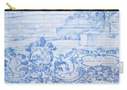 Azulejos Traditional Tiles In Porto Portugal Carry-all Pouch