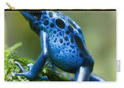 Azure Poison Dart Frog Carry-all Pouch