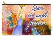 Azuria - Share The Simple Pleasures Carry-all Pouch