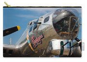 B-17 Flying Fortress Carry-all Pouch by Adam Romanowicz