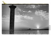 B And W Biloxi Sunset I Mlo Carry-all Pouch