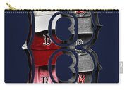 B For Bosox - Boston Red Sox Carry-all Pouch by Joann Vitali