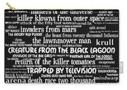 B Movies Science Fiction 20130627bw Carry-all Pouch