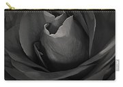 B-w Rose Carry-all Pouch