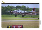 B17 Bomber Taking Off Carry-all Pouch