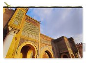 Bab Mansour In Meknes In Morocco Carry-all Pouch