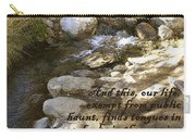 Babbling Brook William Shakespeare Quote Carry-all Pouch