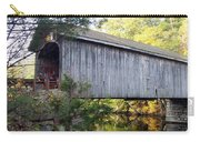 Babbs Covered Bridge In Maine Carry-all Pouch