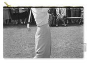 Babe Didrikson Teeing Off Carry-all Pouch