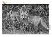 Babes In The Woods 2 - Paint Bw Carry-all Pouch