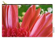 Babies Breath And Gerber Daisy Carry-all Pouch