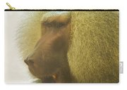 Baboon In The Sun Carry-all Pouch