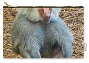 Baboon On A Stump Carry-all Pouch