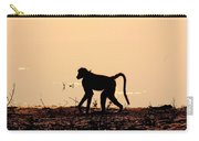 Baboon Sunset Carry-all Pouch