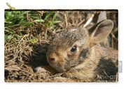 Baby Eastern Cottontail Carry-all Pouch