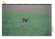 Baby Deer At Sunrise Carry-all Pouch