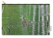 Baby Duck Portrait  Carry-all Pouch