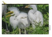 Baby Egrets Carry-all Pouch