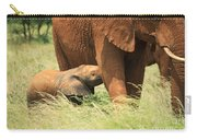 Baby Elephant Feeding Carry-all Pouch