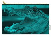 Baby Gator Turquoise Carry-all Pouch