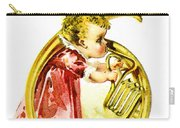Baby Girl With A French Horn Carry-all Pouch