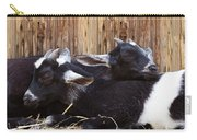 Baby Goats Sleeping Carry-all Pouch