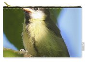 Baby Coal Tit Carry-all Pouch