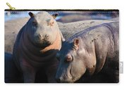 Baby Hippo Carry-all Pouch