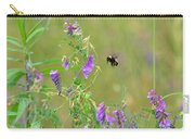 Baby Hummingbird Moth In Flight Carry-all Pouch