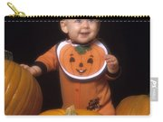 Baby In Pumpkin Costume Carry-all Pouch