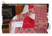 Baby It's Cold Outside Quilt  Carry-all Pouch