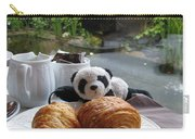 Baby Panda And Croissant Rolls Carry-all Pouch