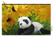 Baby Panda Under The Golden Sky Carry-all Pouch