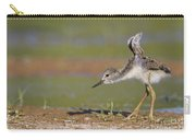 Baby Stilt Stretching Its Wings Carry-all Pouch