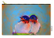 Baby Swallows Carry-all Pouch by Sue Jacobi