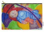 Baby Ted In Motion Portrait  Carry-all Pouch