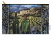 Bacchus Vineyard Carry-all Pouch by Ricardo Chavez-Mendez